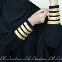 Al Arabian Abaya Line Gold
